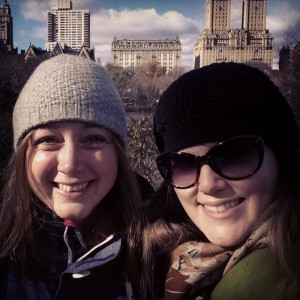 Suzie Birch and I catching up in Central Park, NYC. Nice selfie work there, Suzie!